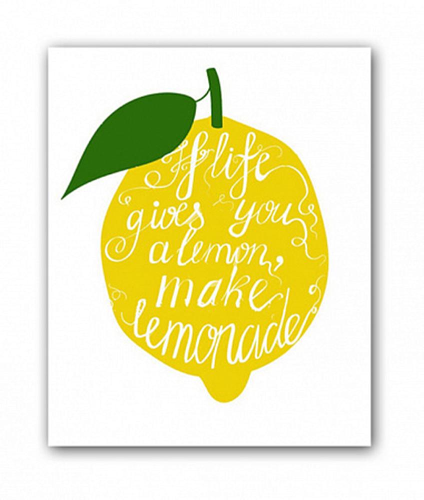 Постер Лимон А4