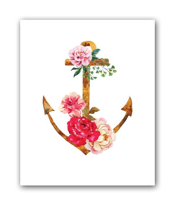 Купить Постер Якорь А4 в интернет магазине дизайнерской мебели и аксессуаров для дома и дачи