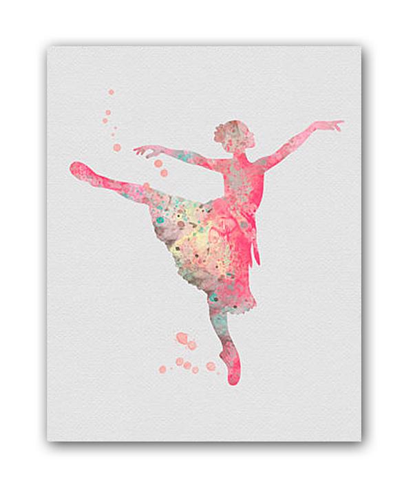 Постер Балерина II А4, DG-D-PR217