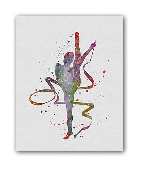 Постер Балерина III А4