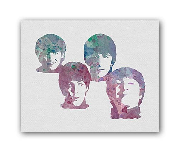 Купить Постер The Beatles А3 в интернет магазине дизайнерской мебели и аксессуаров для дома и дачи