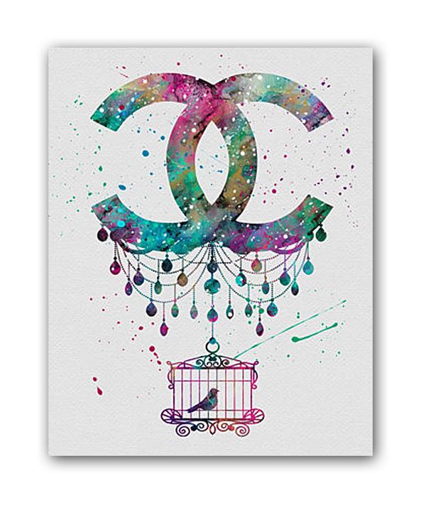 Фото Постер Chanel А4. Купить с доставкой