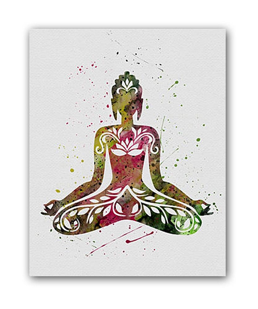 Постер Yoga А4