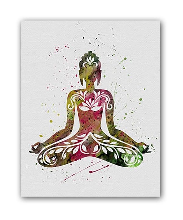 Постер Yoga А3, DG-D-PR234