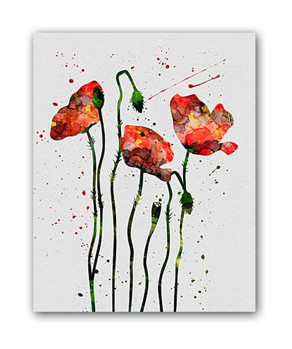 Постер Маки А4, DG-D-PR239Постеры<br>Рамки на выбор белого, черного, серебряного, золотого цветов.<br><br>Цвет: Красный<br>Материал: Бумага<br>Вес кг: 0.3<br>Длинна см: 23<br>Ширина см: 32