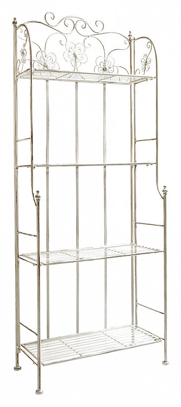 Купить Этажерка Шарлотта (белый антик) в интернет магазине дизайнерской мебели и аксессуаров для дома и дачи