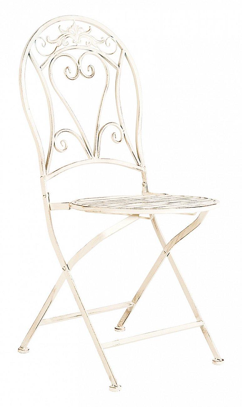 Купить Складной стул Шербур (белый антик) в интернет магазине дизайнерской мебели и аксессуаров для дома и дачи