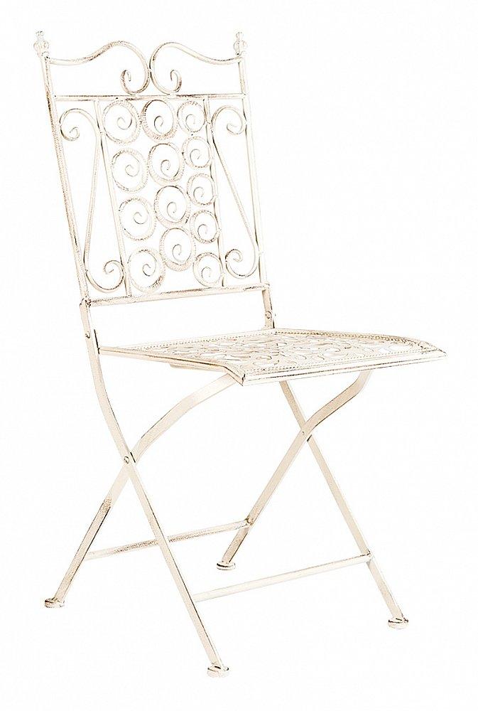 Складной стул Риволи (белый антик), OM-CH11
