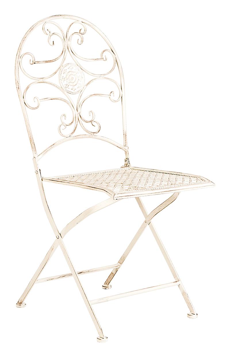 Купить Складной стул Берси (белый антик) в интернет магазине дизайнерской мебели и аксессуаров для дома и дачи