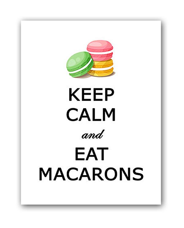Постер Macarons А4