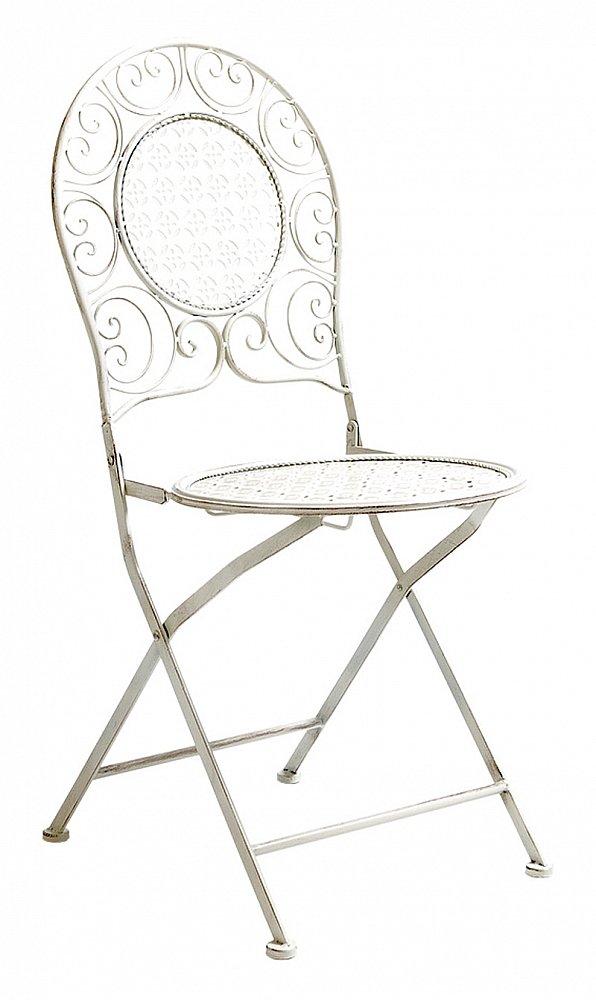 Складной стул Монсо (белый антик), OM-CH13