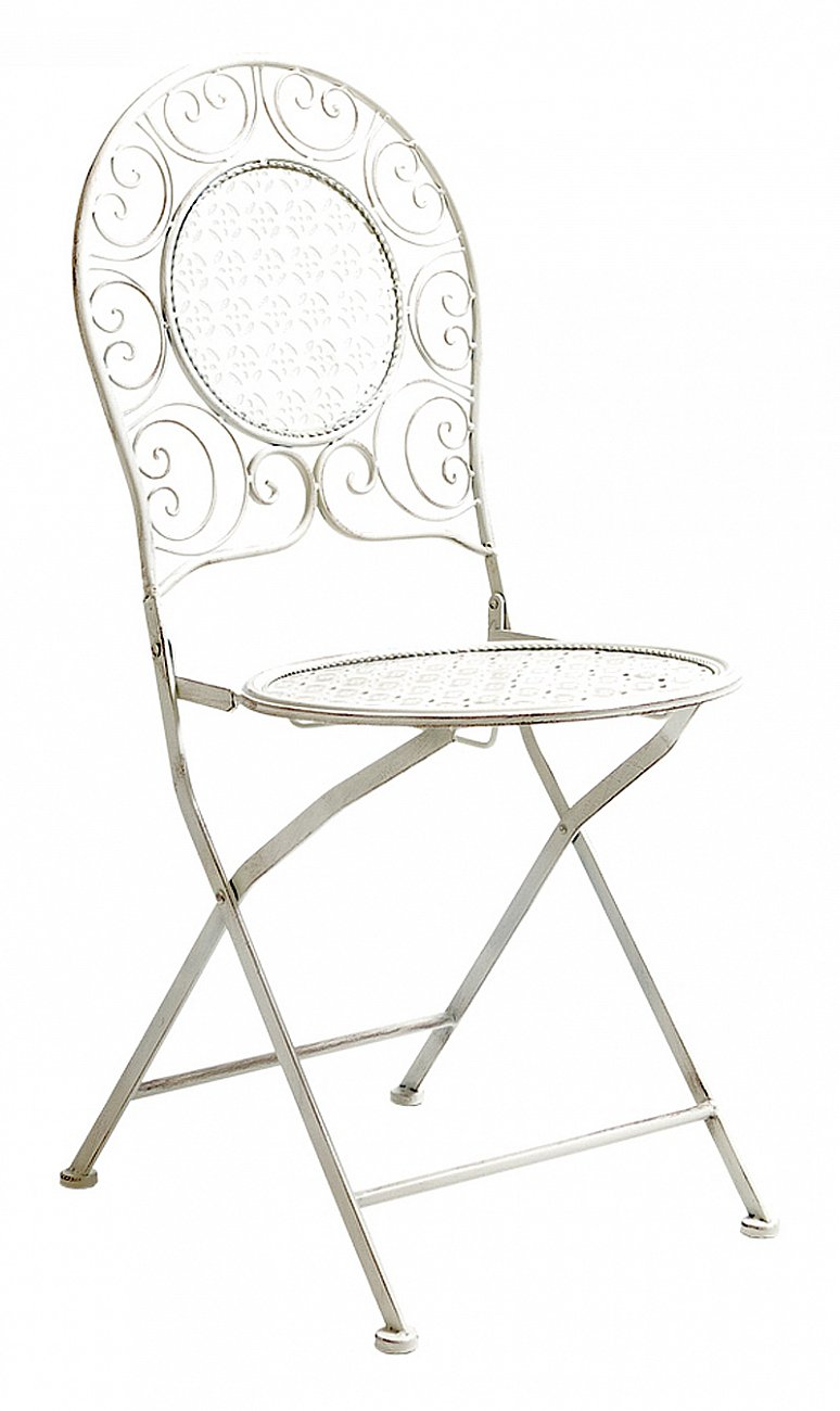 Купить Складной стул Монсо (белый антик) в интернет магазине дизайнерской мебели и аксессуаров для дома и дачи