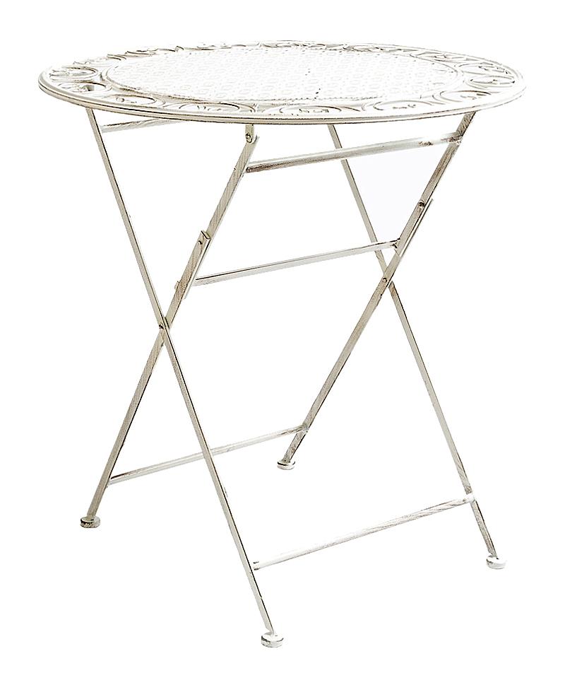Купить Складной столик для завтрака Монсо (белый антик) в интернет магазине дизайнерской мебели и аксессуаров для дома и дачи