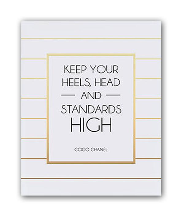 Постер Keep your heels А4