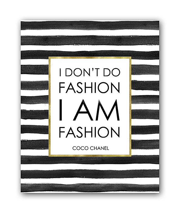 Постер I am fashion А4