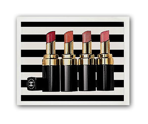 Купить Постер Помада Chanel А4 в интернет магазине дизайнерской мебели и аксессуаров для дома и дачи