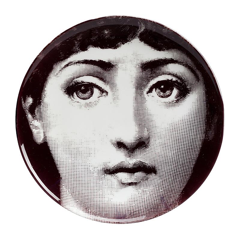 Настенная тарелка Пьеро Форназетти Dead-pan