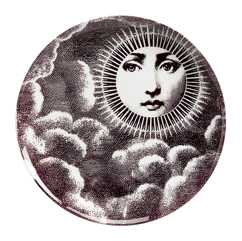 Фото Настенная тарелка Пьеро Форназетти Moon. Купить с доставкой