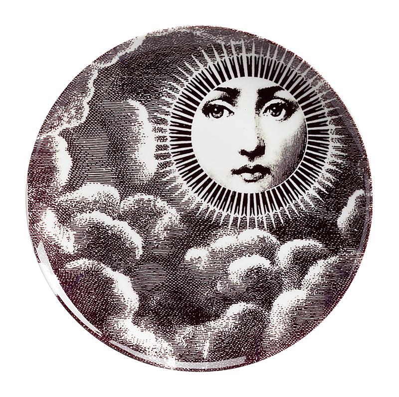Купить Настенная тарелка Пьеро Форназетти Moon в интернет магазине дизайнерской мебели и аксессуаров для дома и дачи