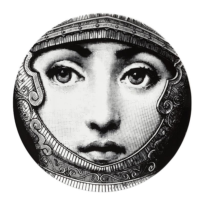 Настенная тарелка Пьеро Форназетти Knight