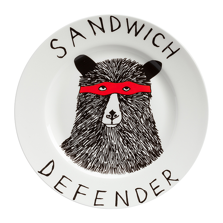 Тарелка Sandwich Defender, DG-DW-609