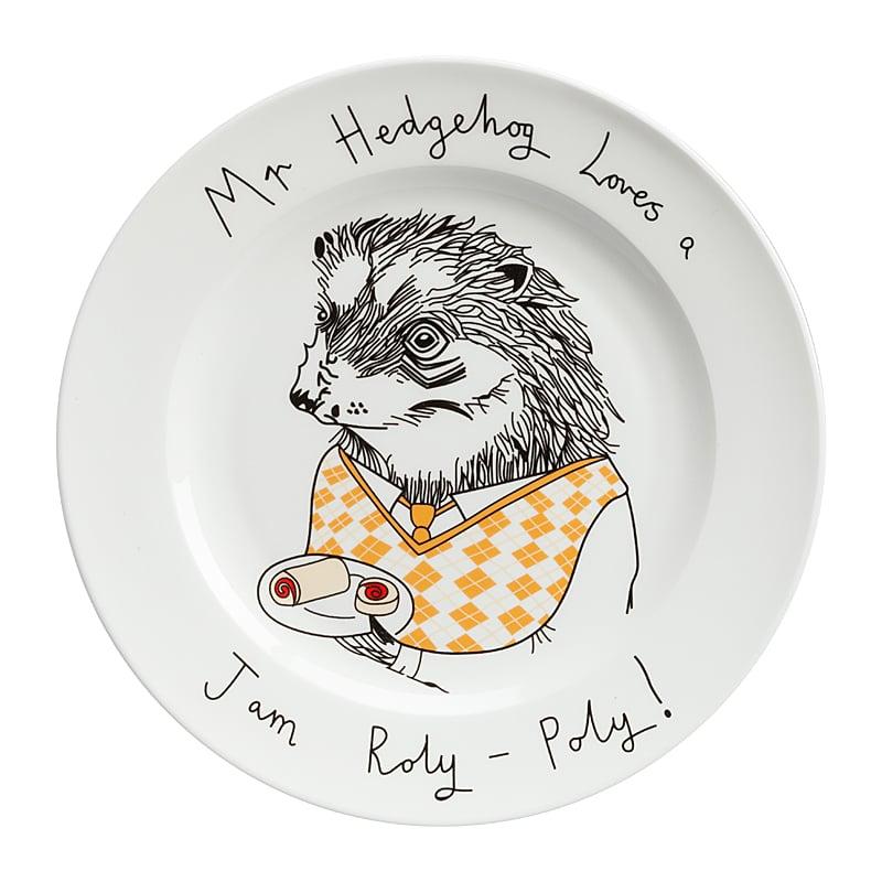 Фото Тарелка Mr Hedgehog. Купить с доставкой