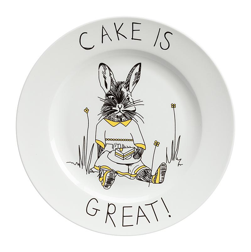 Фото Тарелка Cake is Great. Купить с доставкой