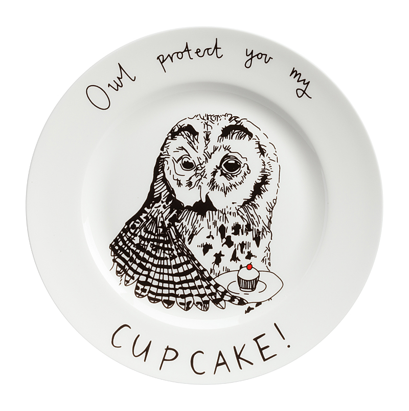Тарелка Owl protect You My Cup Cake, DG-DW-616