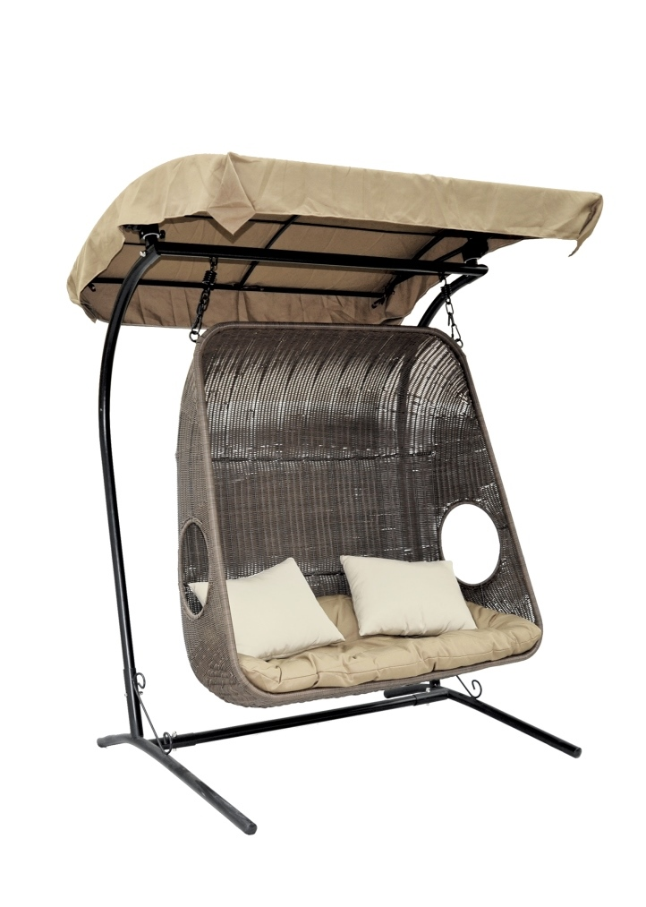 Купить Подвесное кресло для двоих Durian в интернет магазине дизайнерской мебели и аксессуаров для дома и дачи