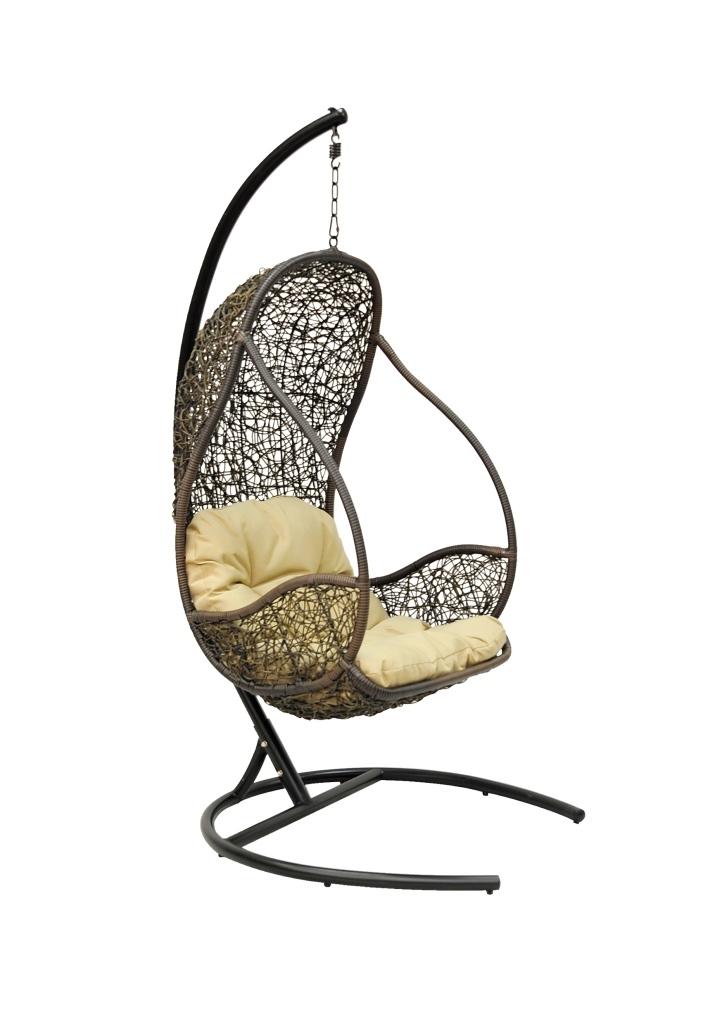 Купить Подвесное кресло Lichi Black в интернет магазине дизайнерской мебели и аксессуаров для дома и дачи