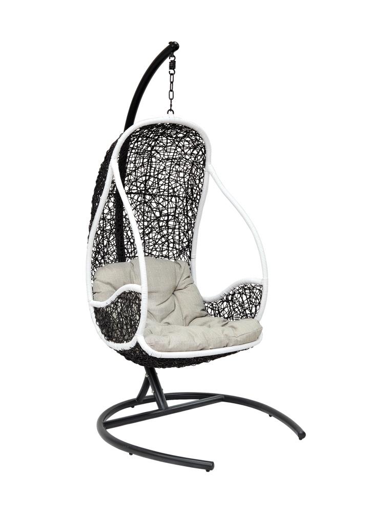 Купить Подвесное кресло Lichi White в интернет магазине дизайнерской мебели и аксессуаров для дома и дачи