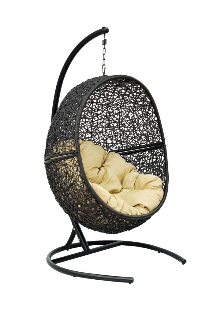 Купить Подвесное кресло Rambutan Black в интернет магазине дизайнерской мебели и аксессуаров для дома и дачи