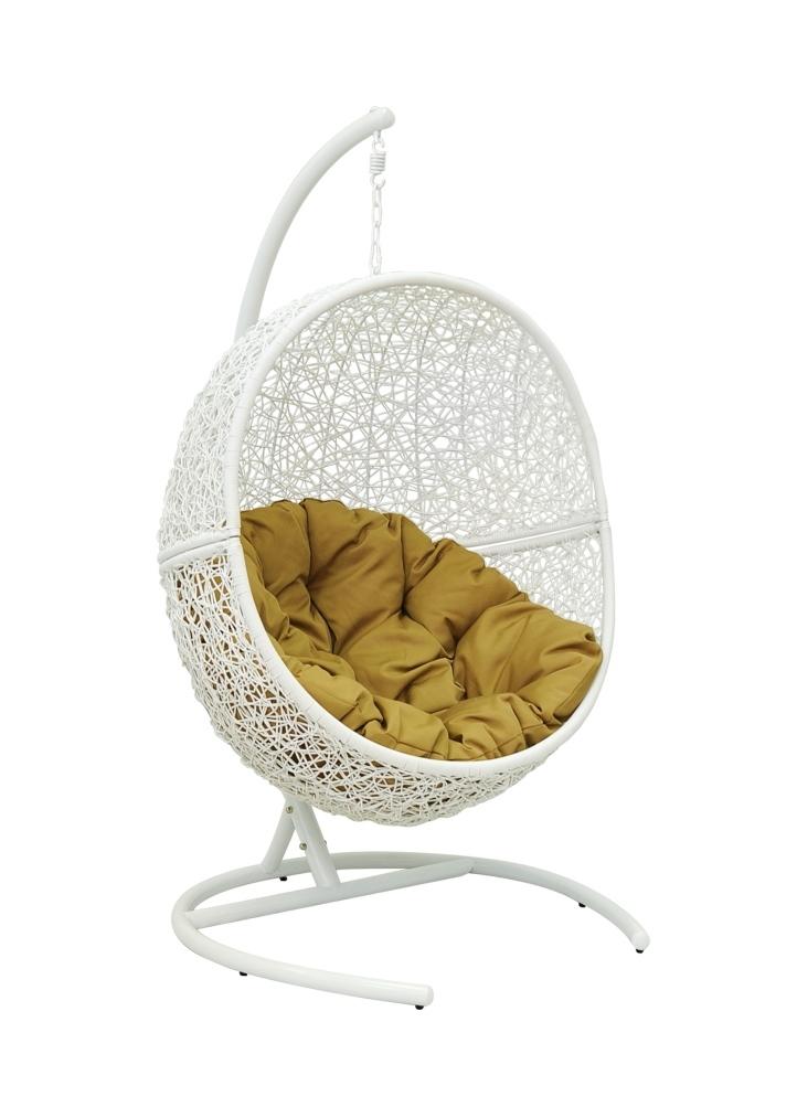 Купить Подвесное кресло Rambutan White в интернет магазине дизайнерской мебели и аксессуаров для дома и дачи