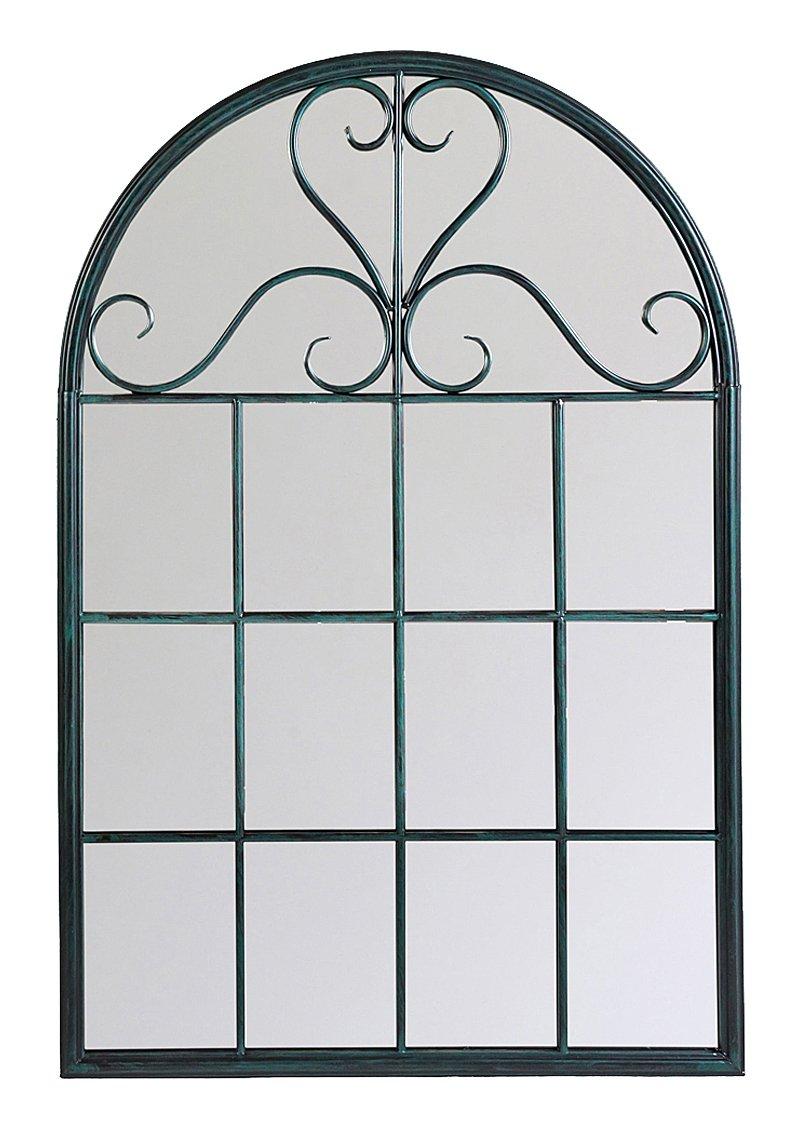 Купить Настенное зеркало Венсен (черный антик) в интернет магазине дизайнерской мебели и аксессуаров для дома и дачи