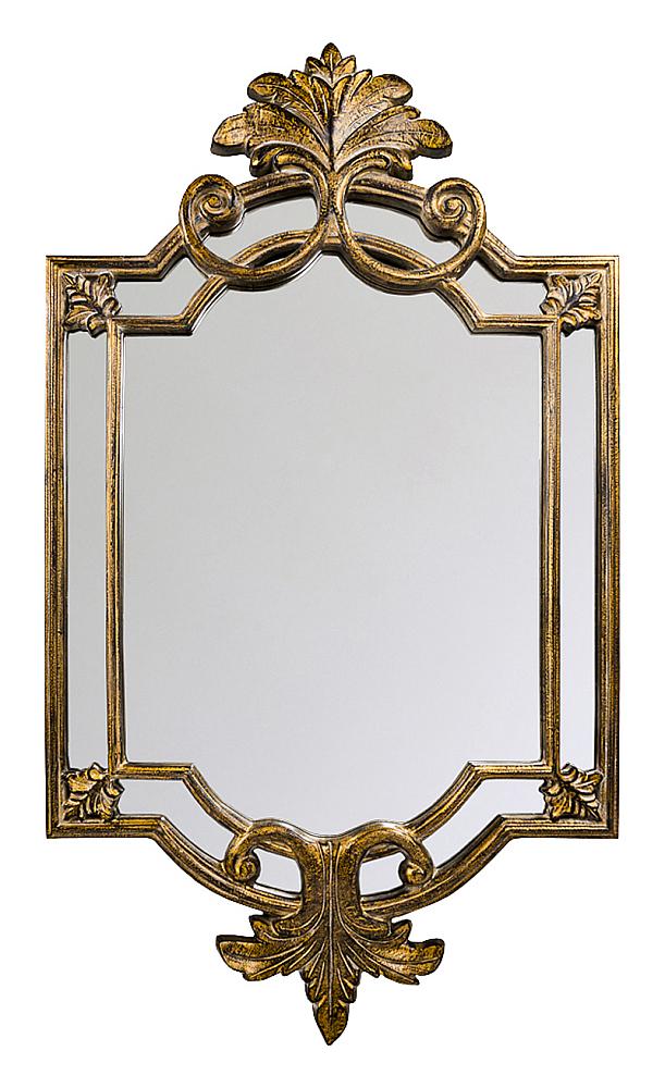 Настенное зеркало Ноэль, OM-MR29  Сочетая салонную аристократичность с дворцовой  роскошью, единственный декоративный элемент  способен задать стиль помещению в целом.  Для зеркала размер прямо пропорционален  великолепию. В прямом смысле тончайший  воздушный узор зеркала