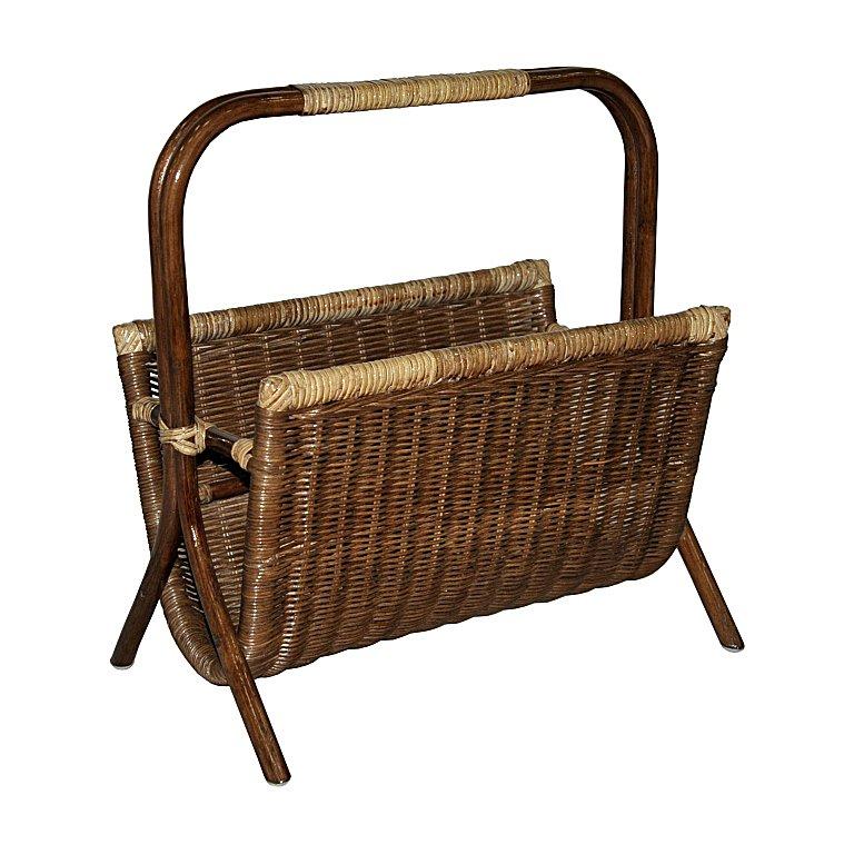Купить Газетница Wicker (венге) в интернет магазине дизайнерской мебели и аксессуаров для дома и дачи