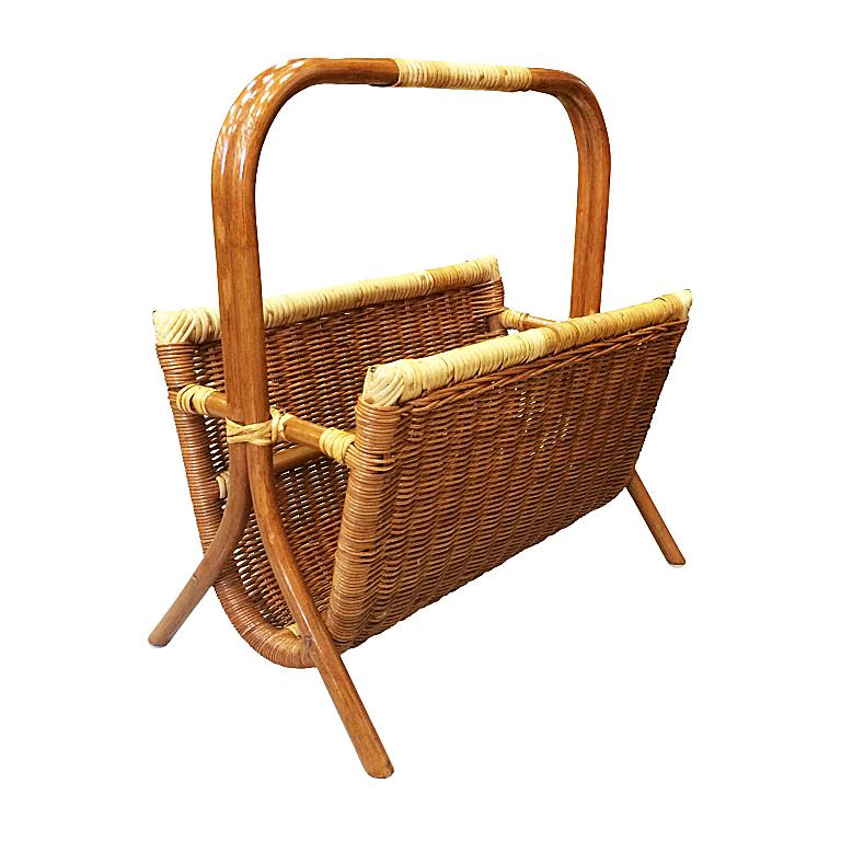 Купить Газетница Wicker (бежевый) в интернет магазине дизайнерской мебели и аксессуаров для дома и дачи