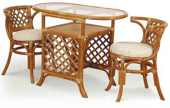 Купить Комплект для завтрака Breakfast (светлый) в интернет магазине дизайнерской мебели и аксессуаров для дома и дачи