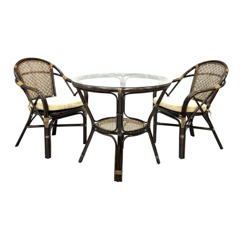 Купить Обеденный комплект Dinner в интернет магазине дизайнерской мебели и аксессуаров для дома и дачи