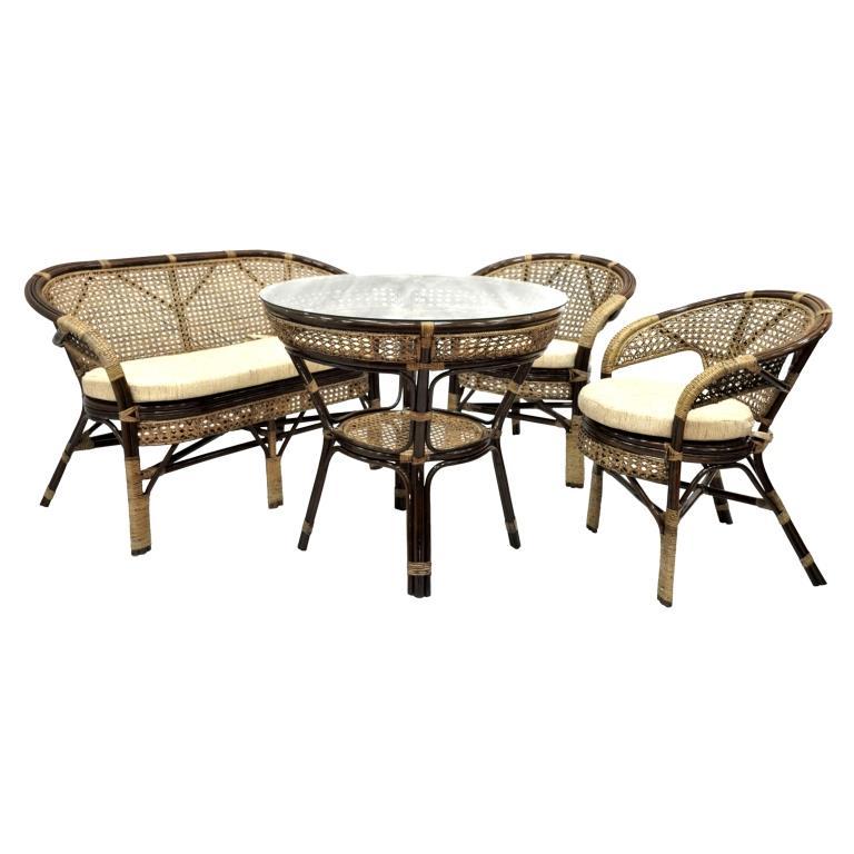 Купить Обеденный комплект с диваном Lunch в интернет магазине дизайнерской мебели и аксессуаров для дома и дачи