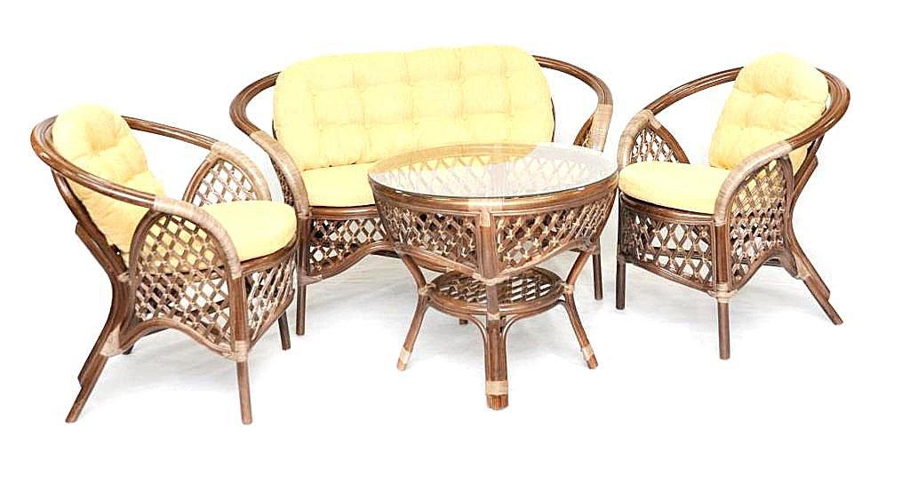 Купить Кофейный комплект Weekend (коричневый) в интернет магазине дизайнерской мебели и аксессуаров для дома и дачи