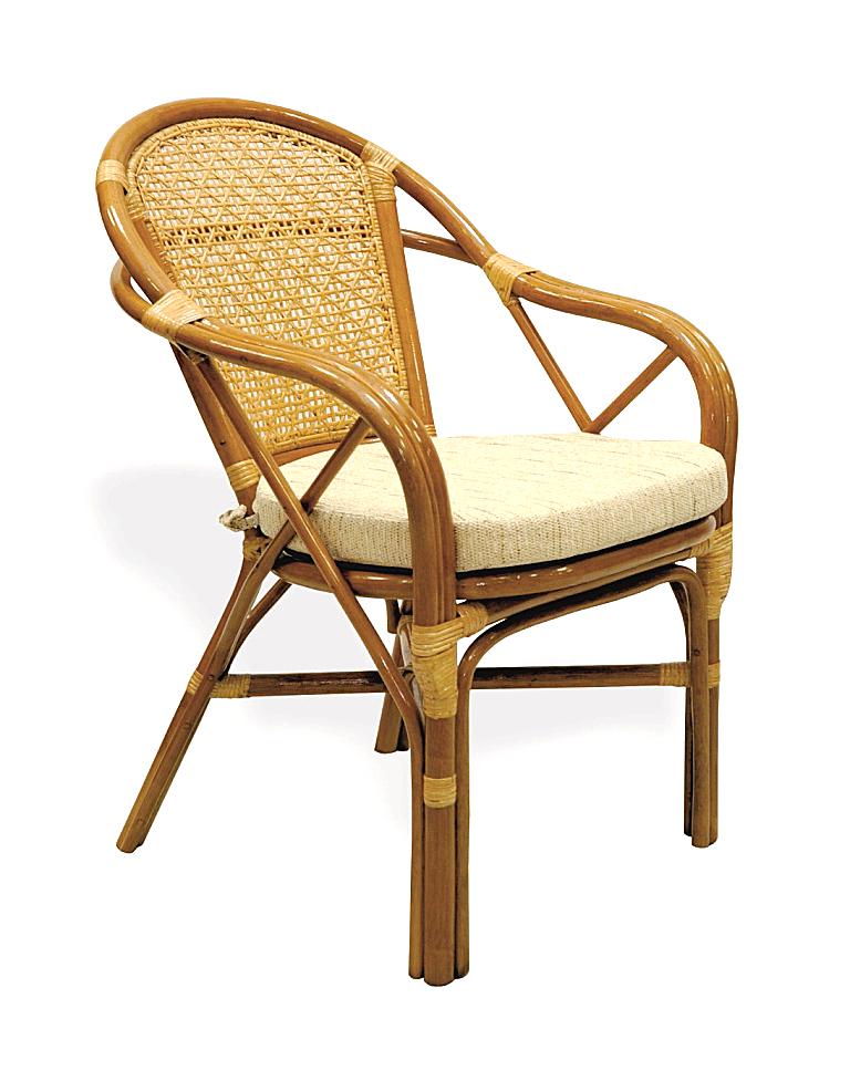 Купить Кресло из ротанга Simple Way (бежево-золотой) в интернет магазине дизайнерской мебели и аксессуаров для дома и дачи