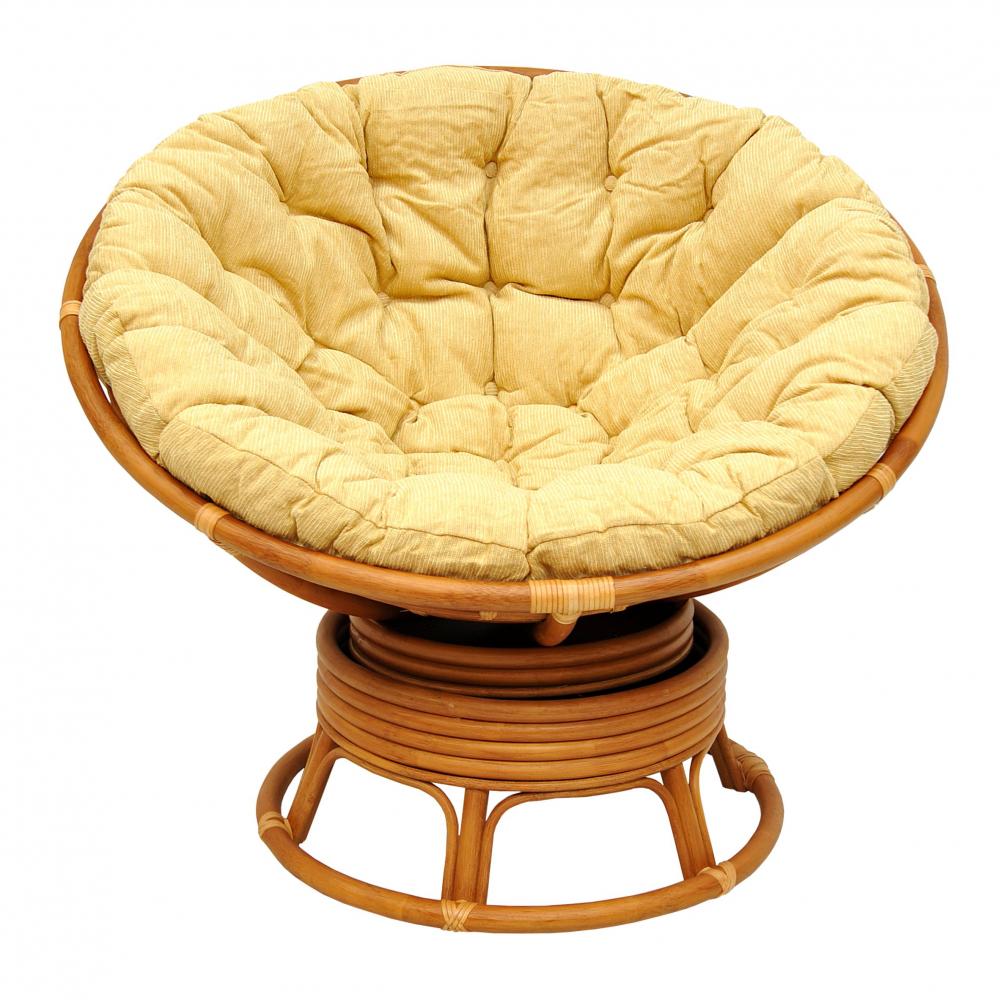Кресло механическое Circle (Matte, бежево-золотой), Уличная и садовая мебель<br>Кресла серии Circle - идеальны для отдыха! При изготовлении каркаса используется ротанг класса А - более толстый, прочный и гладкий.Благодаря матовой окраске ротанга кресло выглядит более дорогим и респектабельным. Оплетка стыков выполнена из кожи. И все это по очень низкой цене для модели такого класса! Очень удобное и оригинальное кресло. Оно состоит из 3 частей и может поставляться в собранном или разобранном виде по вашему желанию. Верхняя чаша прикручивается к основания на четыре болта. Подушка привязывается к чаше за ремешки. Сборка кресла не требует специальных навыков.<br><br>Цвет: бежево-золотой<br>Материал: Натуральный ротанг, Материал подушки: шенилл<br>Вес кг: None<br>Ширина см: 105<br>Высота см: 100