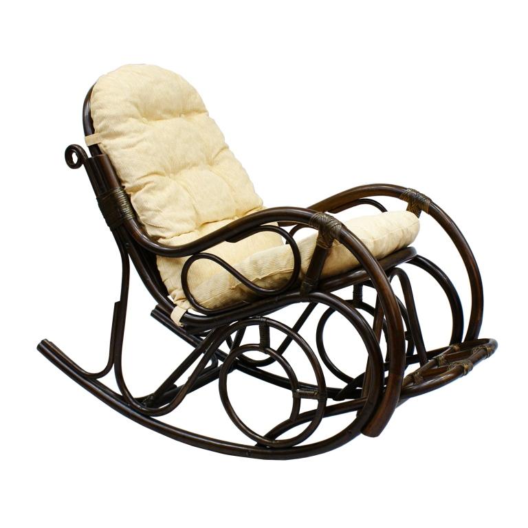 Купить Кресло-качалка Indo Classik (темно-коричневый) в интернет магазине дизайнерской мебели и аксессуаров для дома и дачи