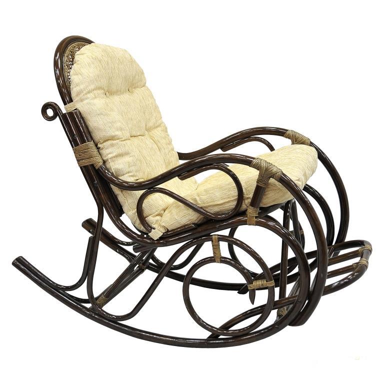 Купить Кресло-качалка Indo Classik (коричневый) в интернет магазине дизайнерской мебели и аксессуаров для дома и дачи