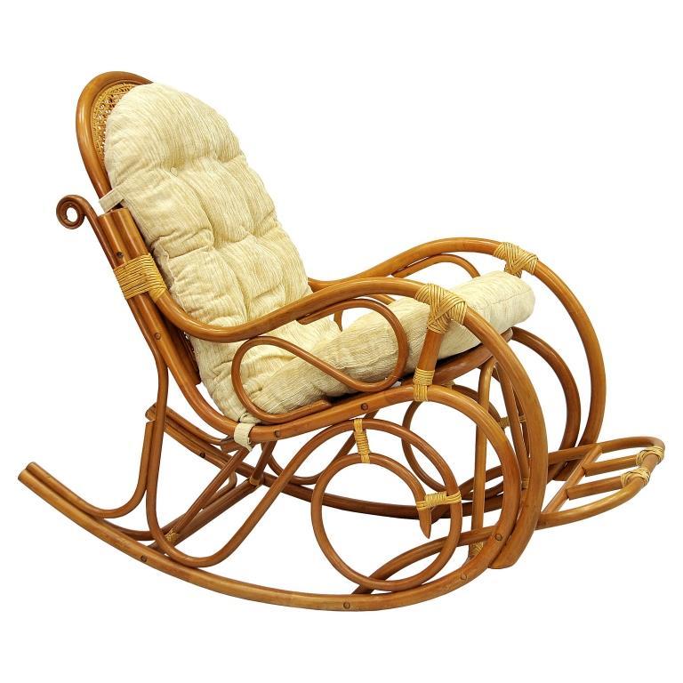 Купить Кресло-качалка Indo Classik (бежево-золотой) в интернет магазине дизайнерской мебели и аксессуаров для дома и дачи