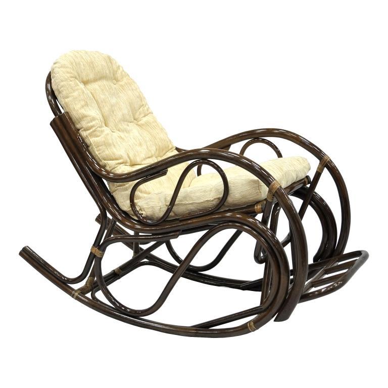 Купить Кресло-качалка Lucky (коричневый) в интернет магазине дизайнерской мебели и аксессуаров для дома и дачи