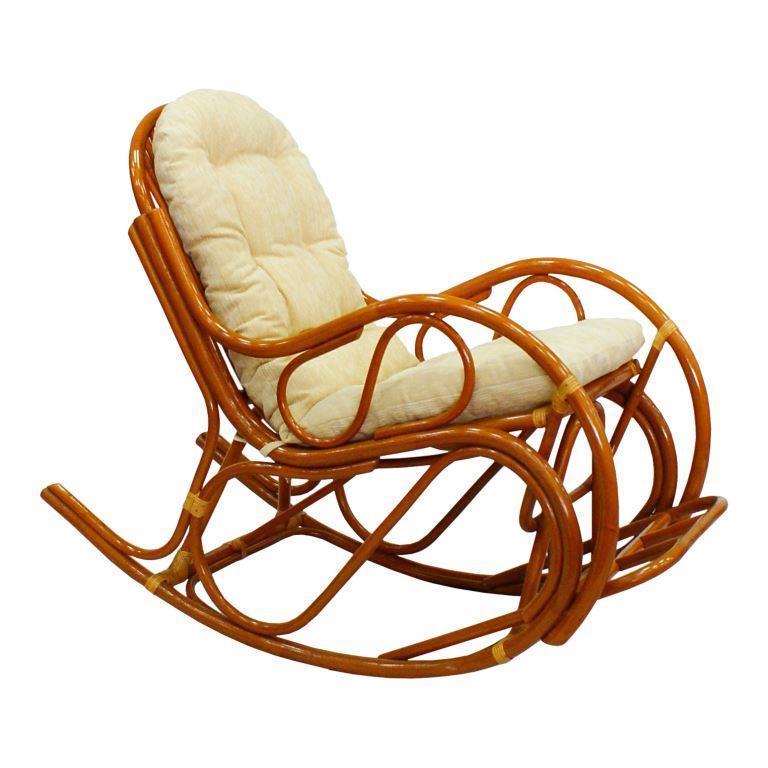 Купить Кресло-качалка Lucky (бежевый) в интернет магазине дизайнерской мебели и аксессуаров для дома и дачи