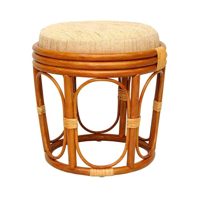 Купить Табурет из ротанга Comfort (бежевый) в интернет магазине дизайнерской мебели и аксессуаров для дома и дачи