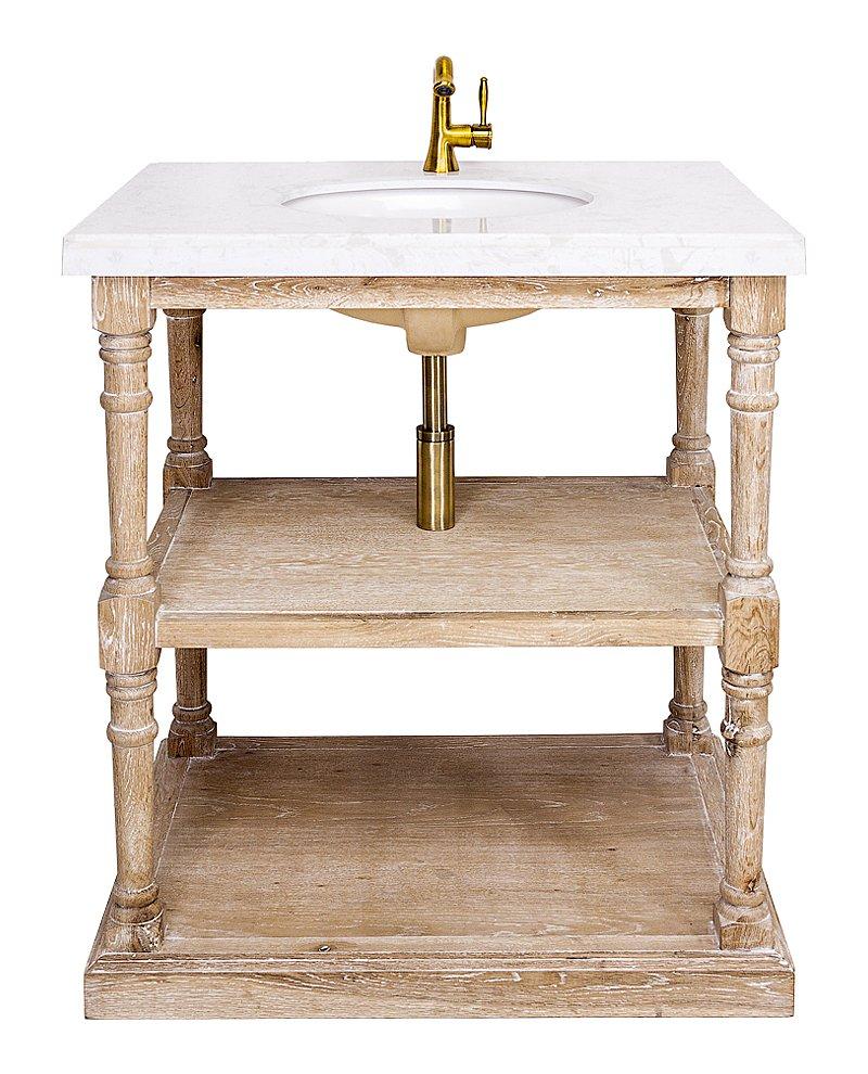 Купить Тумба с раковиной Маделан (белая) в интернет магазине дизайнерской мебели и аксессуаров для дома и дачи